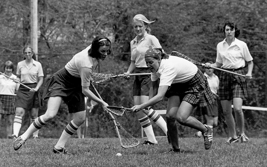 history of women's lacrosse